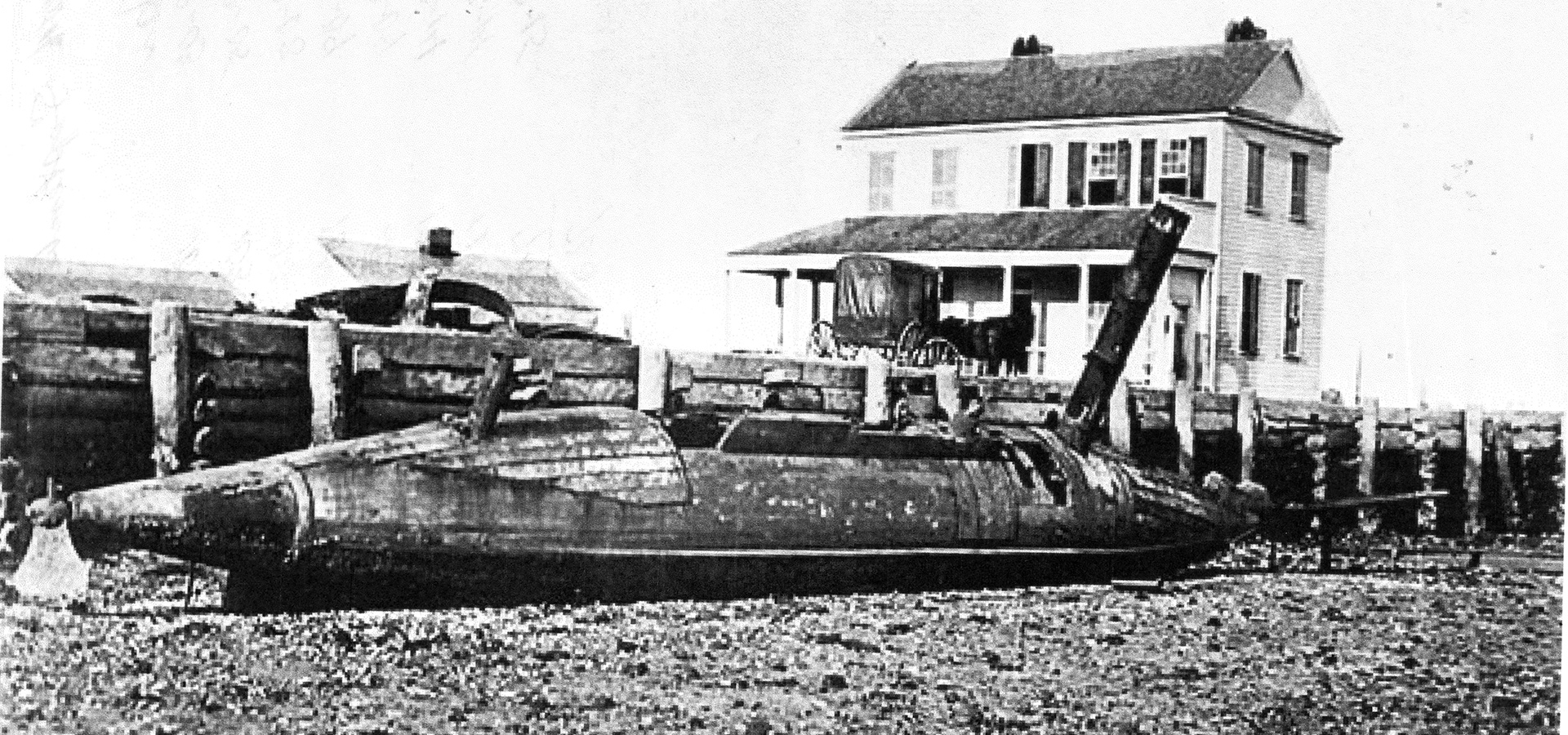 CSS David – semi-submersible torpedo boat